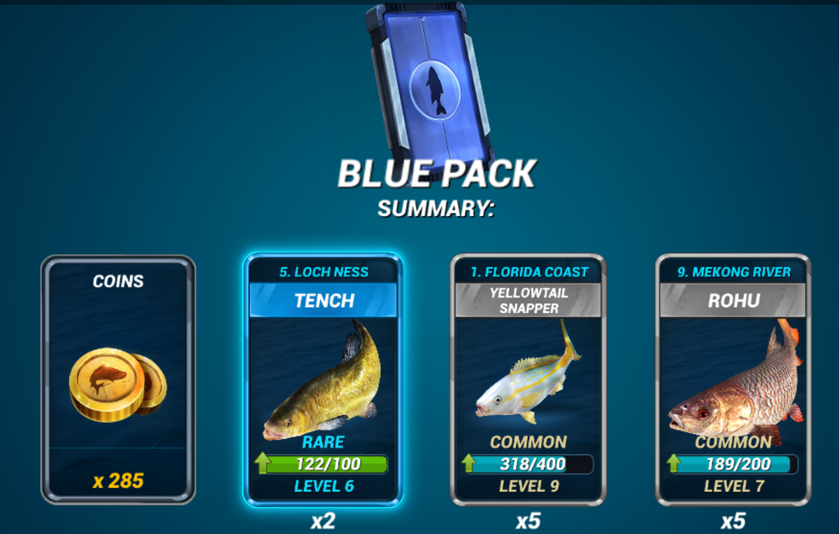 Blue Pack With 2,500–2,999 Trophies