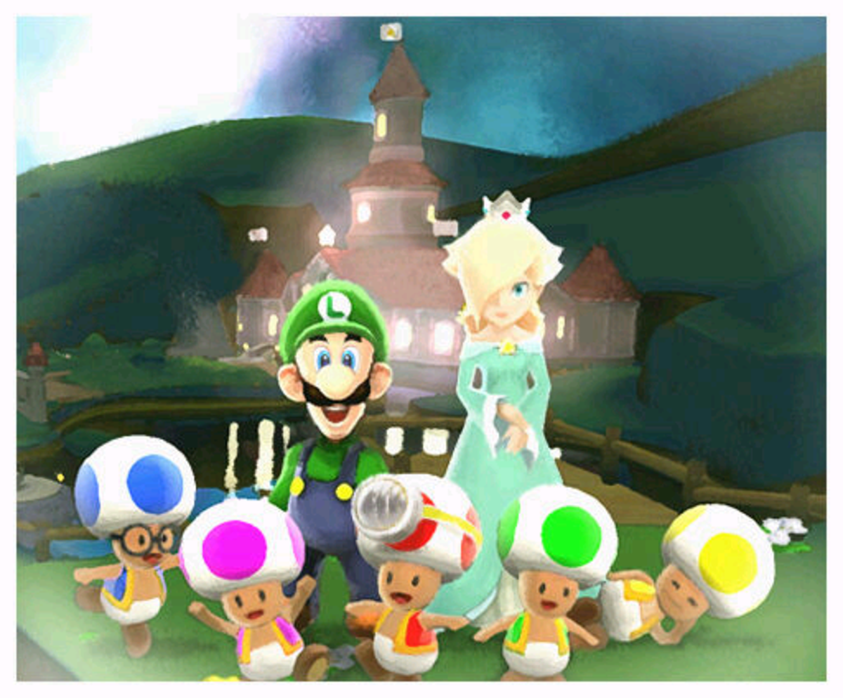 Could Luigi be Rosalina's father or brother?