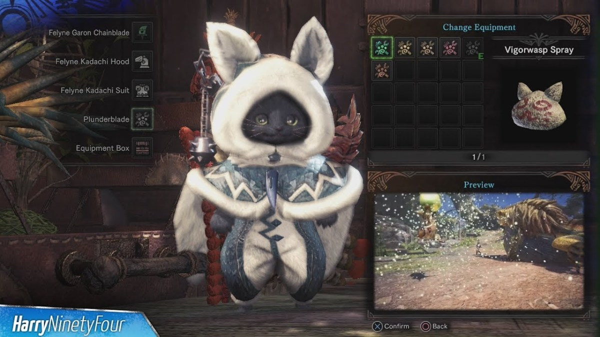 Your Palico Deserves the Best