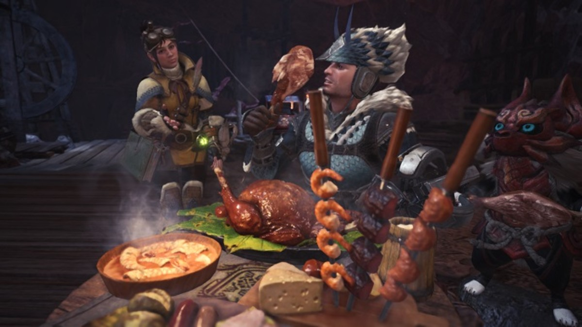 Eat a Meal Before Quests