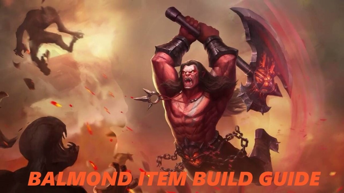 Mobile Legends: Balmond Item Build Guide
