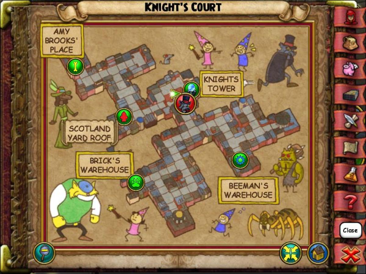 To find this Stray Cat, head to the Knight's Tower sigils and turn left.