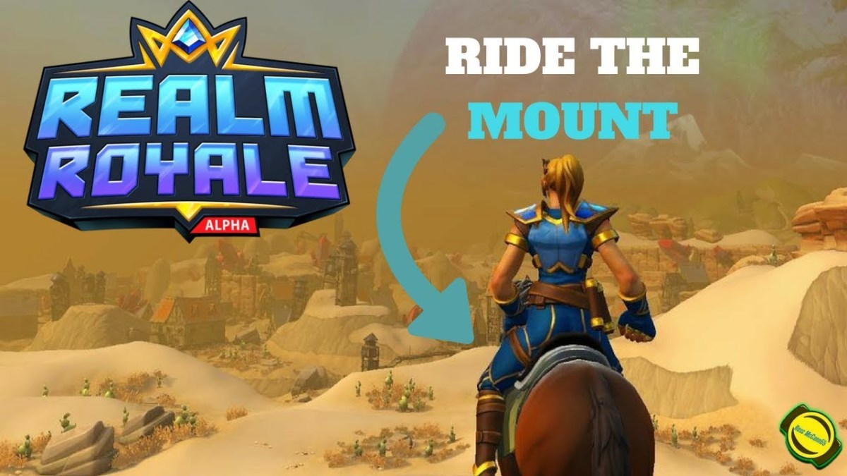 Using your mount is essential when it comes to navigating the map and escaping the fog.