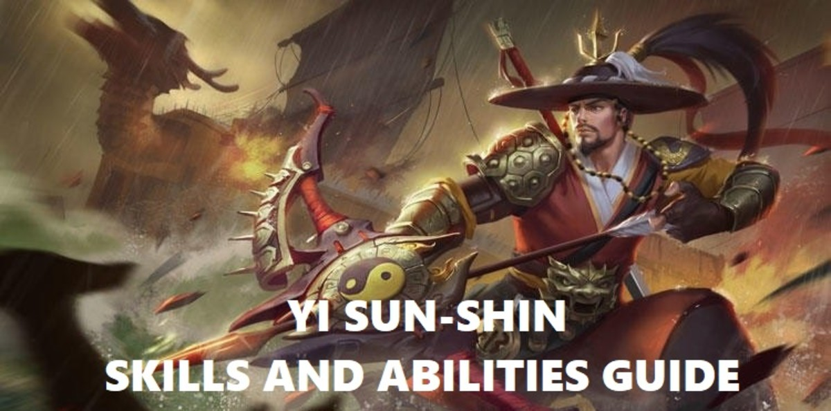Mobile Legends Yi Sun-shin Skills and Abilities Guide