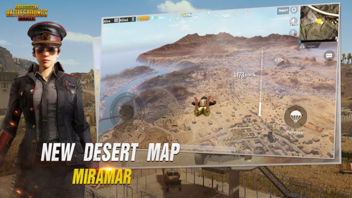 New Desert Map: Miramar