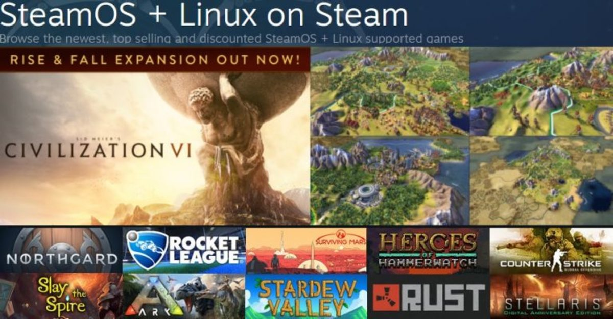 Linux Games on Steam