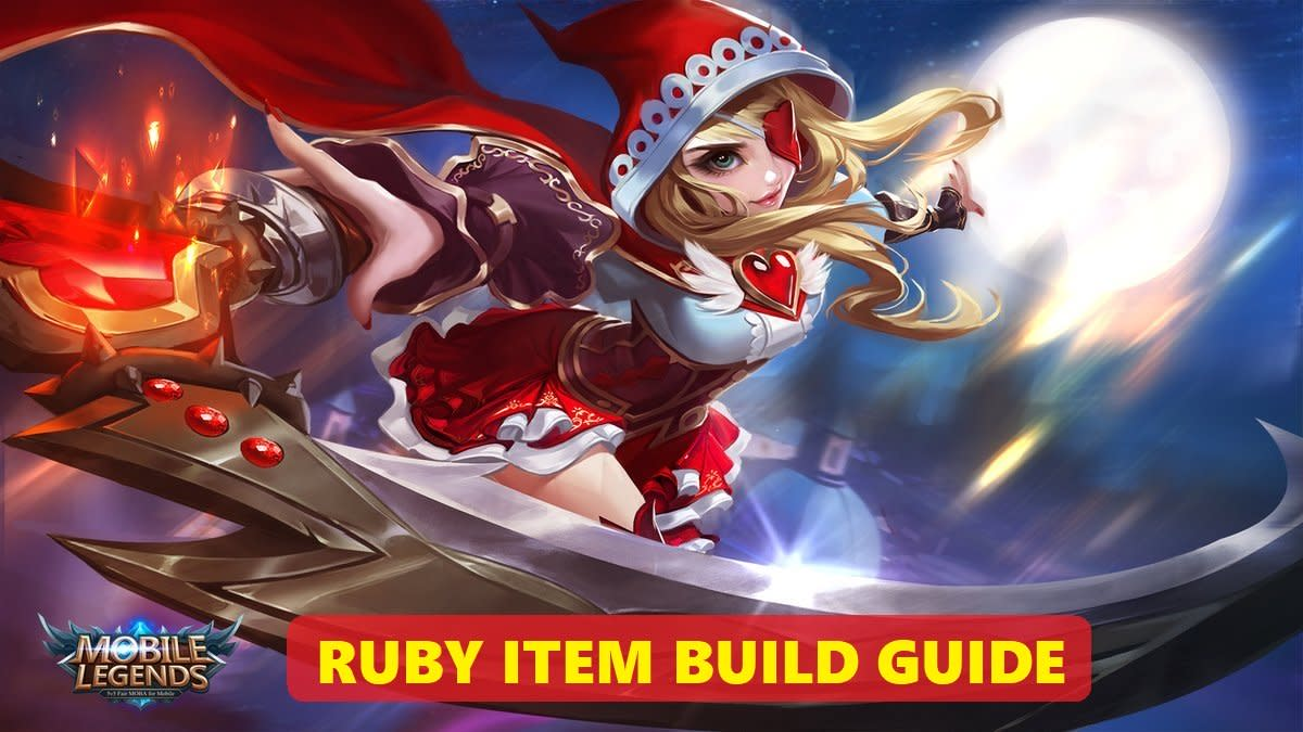 """Beast Killer? Immortality? Magic Shoes? Figure out which items to equip Ruby with in """"Mobile Legends"""" with the help of this handy guide!"""