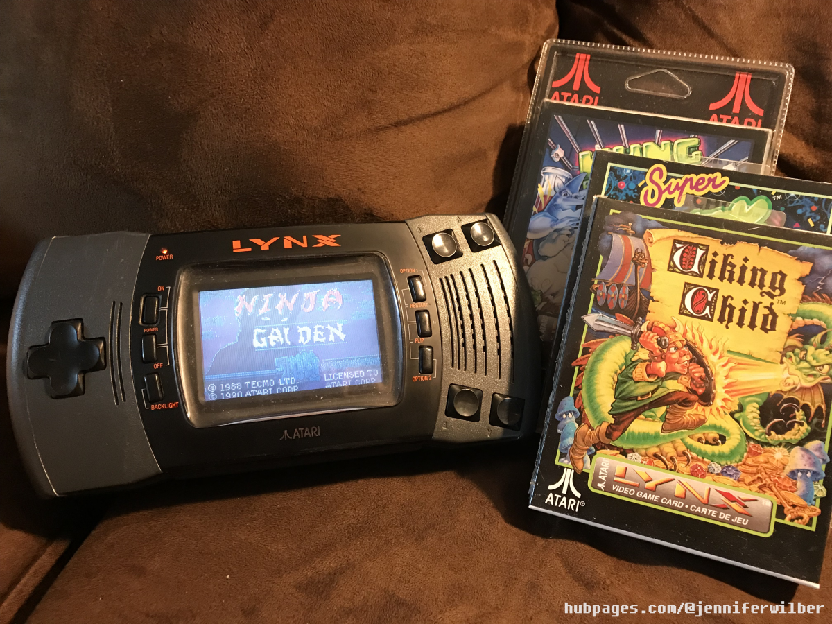 Though the Atari Lynx was considered portable back in the day, you probably won't want to carry it around when there are more light-weight modern options available.