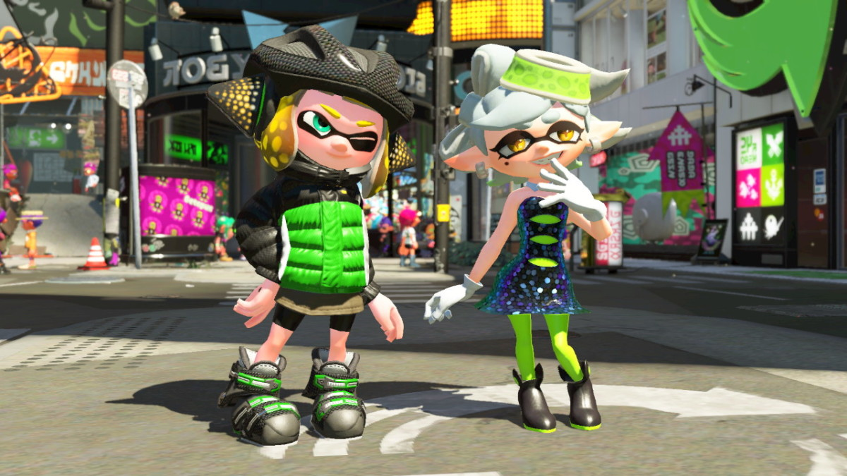 Marie gave my Inkling this fresh gear!