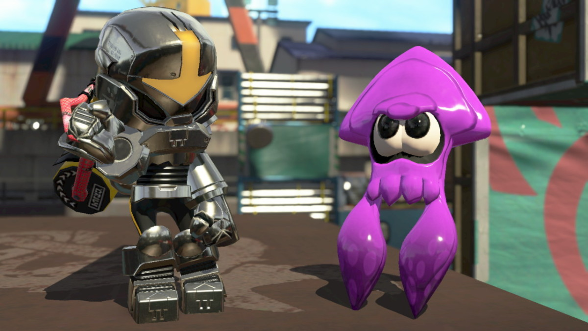 This is the gear from the Splatoon 2 Inkling Squid Amiibo.