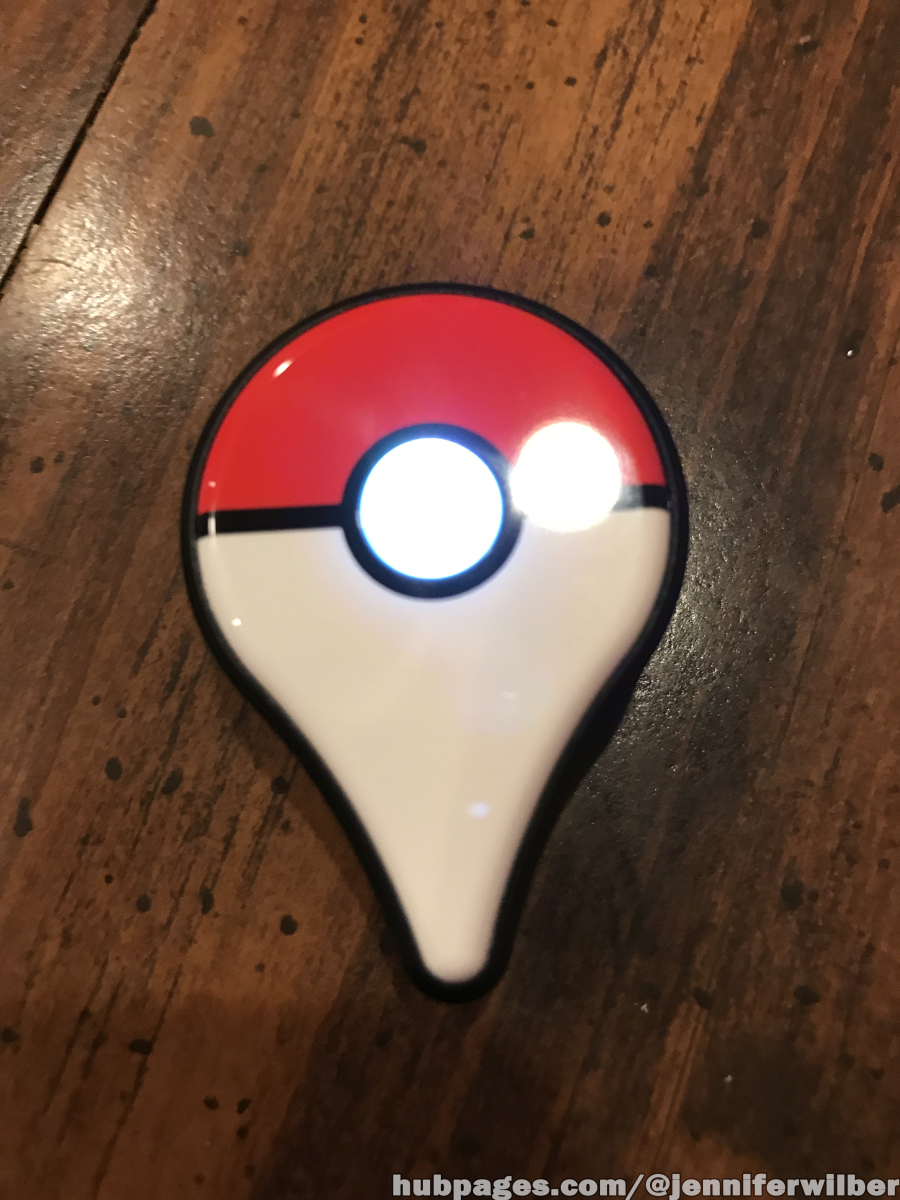 Press the button on the Pokemon Go Plus to make sure the new battery works.