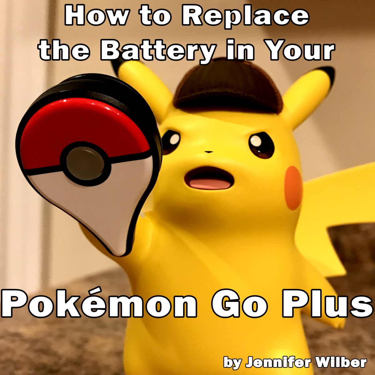 Detective Pikachu can't recharge his Pokemon Go Plus's battery with his electricity. He'll need to replace the battery like everyone else.