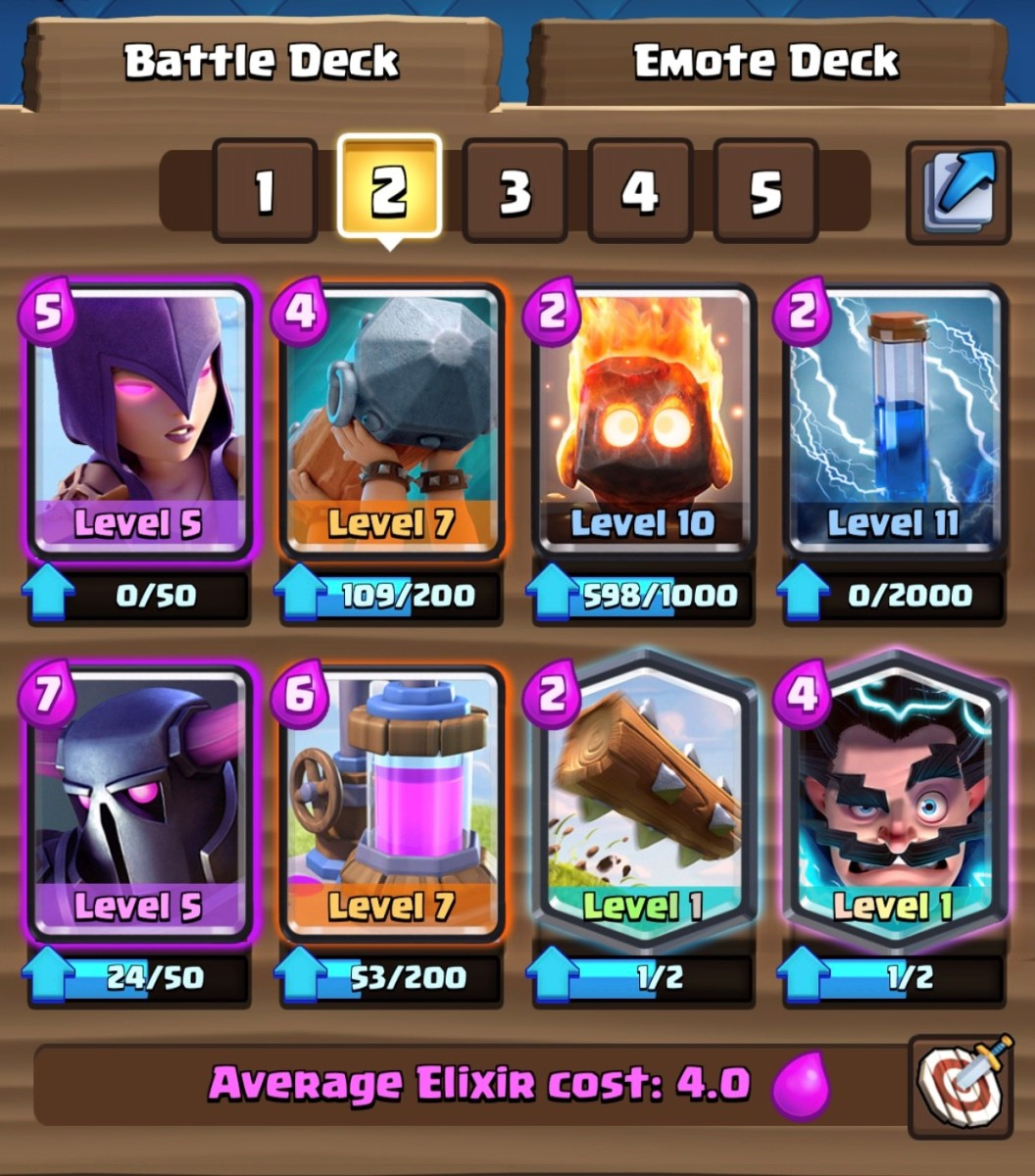 """Clash Royale"": Pekka Witch Beatdown Deck"
