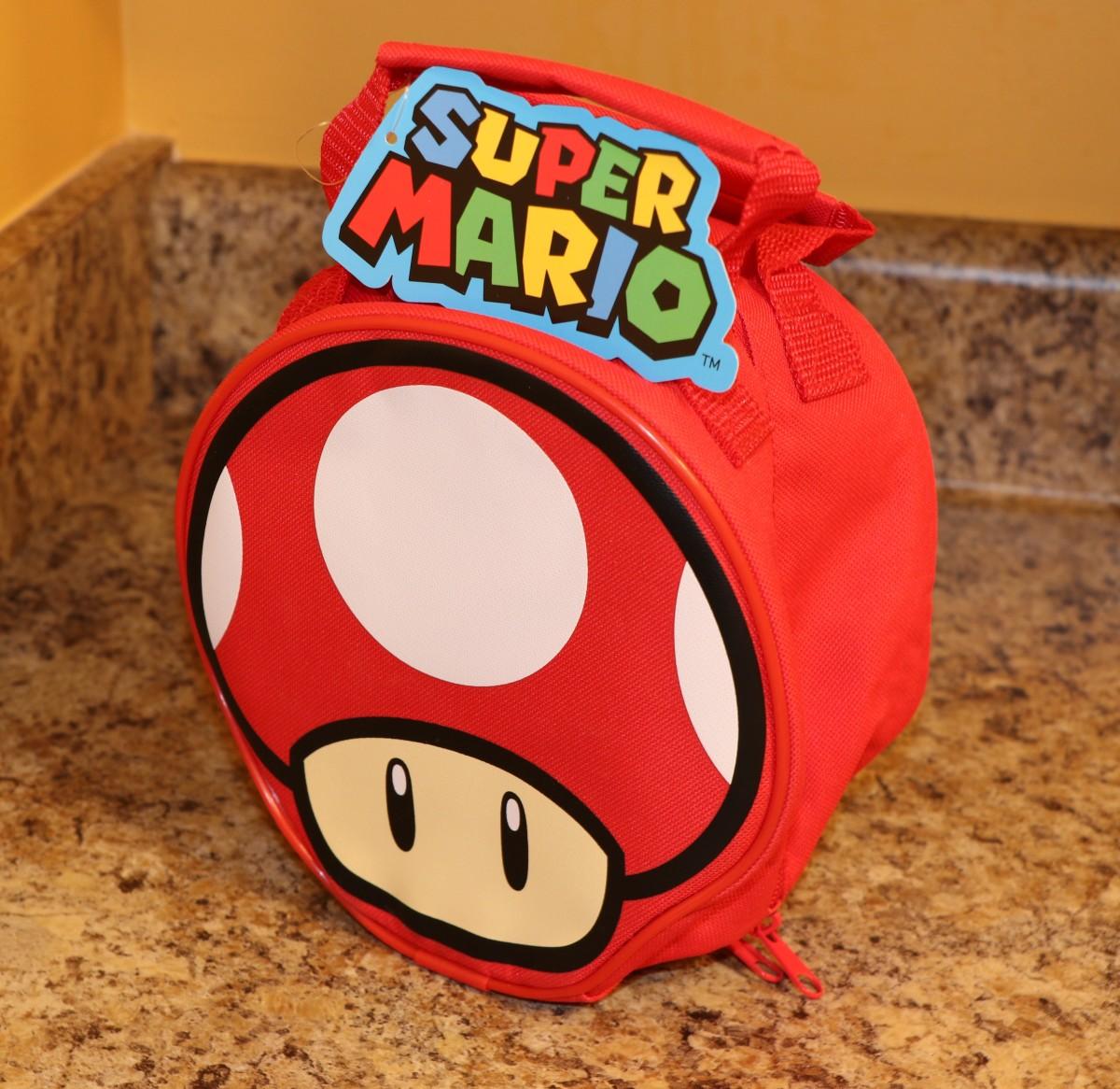 Red Mushroom Lunch Bag