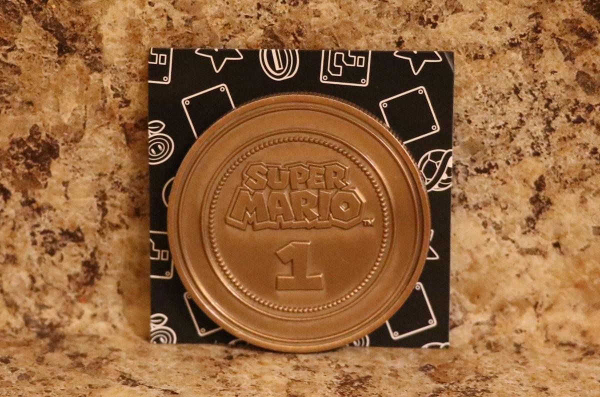 Super Mario Collectible Coin