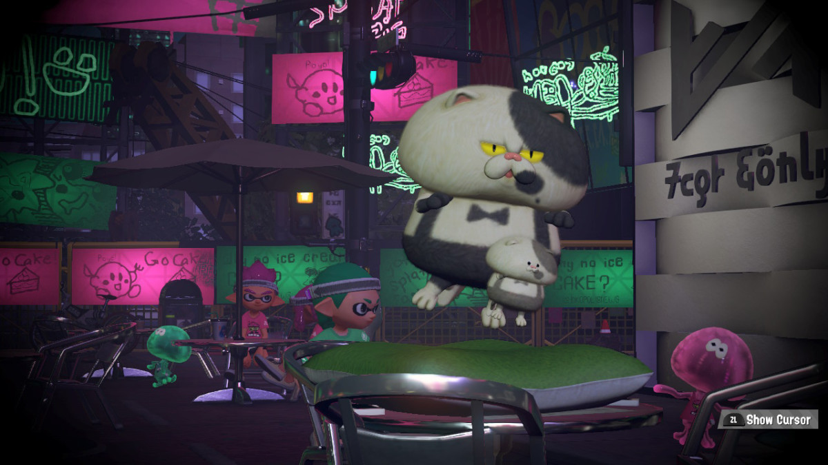 Even Judd and Lil' Judd get crazy during Splatfest