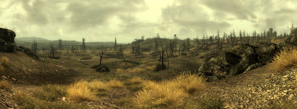 The wasteland in all of it's glory.