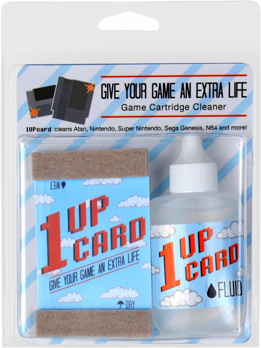 If this cleaning method doesn't work, you may need to try a cartridge cleaning kit, such as the  Universal 1 Up Retro Video Game Cartridge Cleaning Kit.