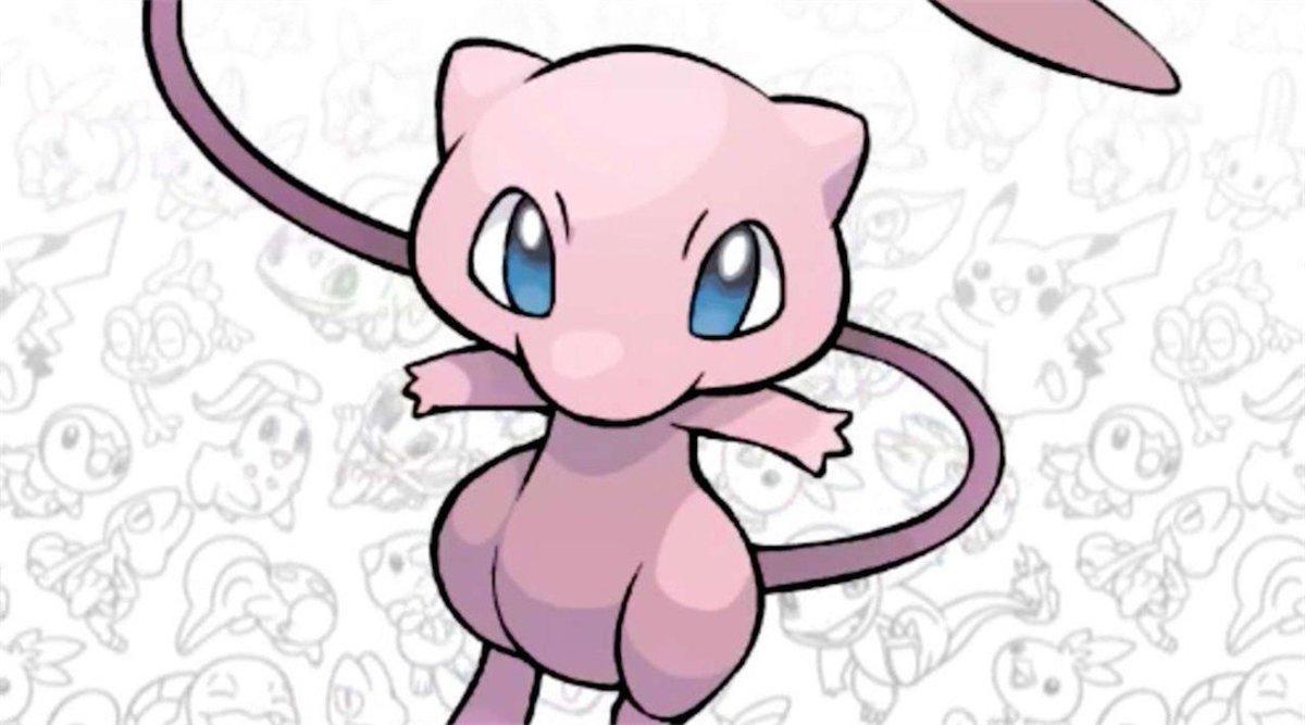 Mew, ancestor of all Pokémon.
