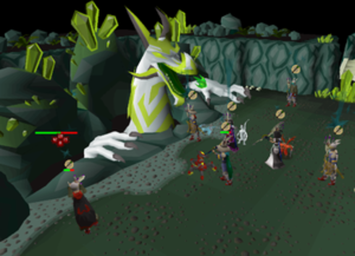 Great Olm - The final boss in the Chambers of Xeric, possibly the best way of making money through PVM at higher levels, apart from the Theatre of Blood