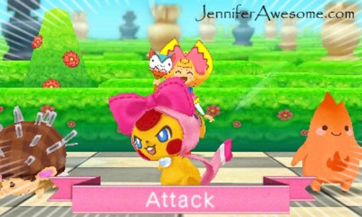 Scrunchie attacks in Moco Moco friends.