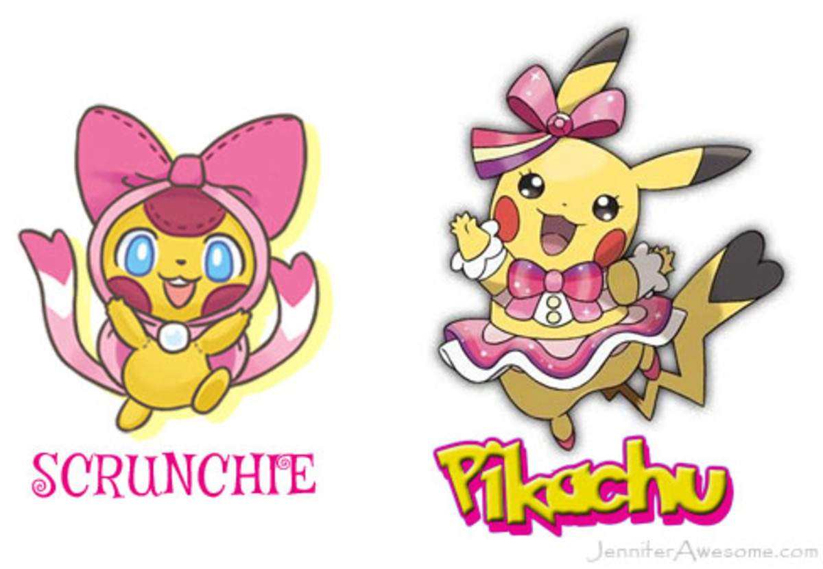 The Plushkin Scrunchie bears an uncanny resemblance to Cosplay Pikachu.