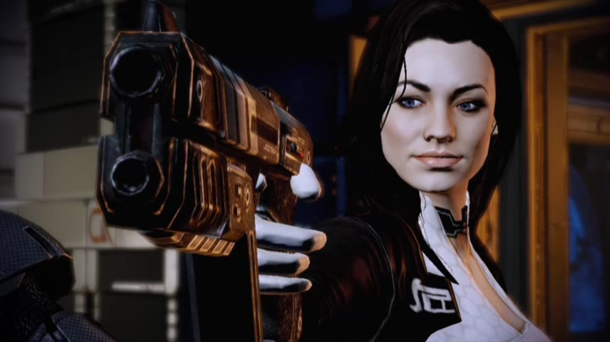 I miss you, Miri, but I had to spare you the indecency of becoming whiny and weak during Mass Effect 3.
