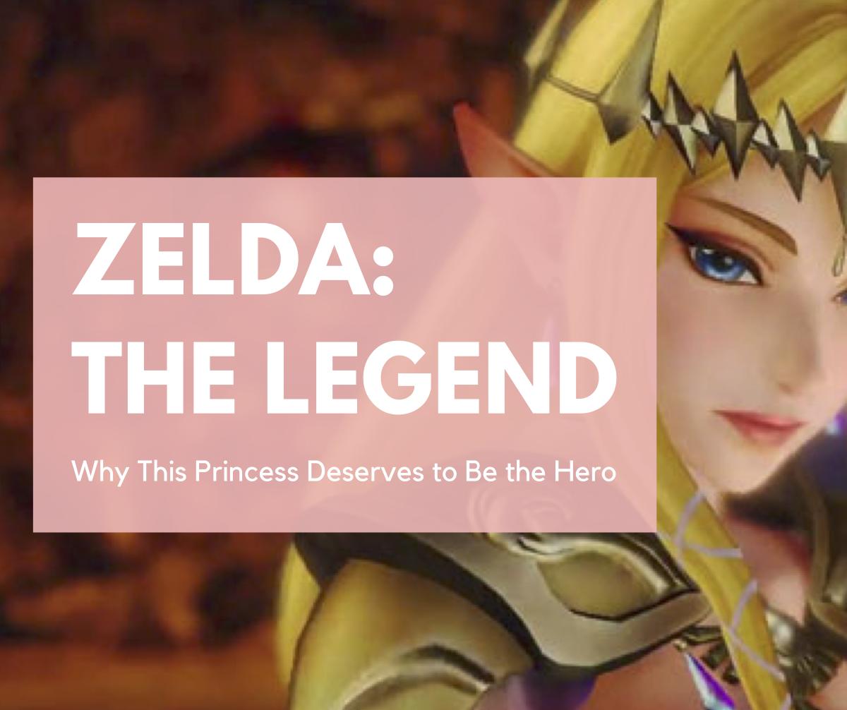 A close-up shot of Zelda.