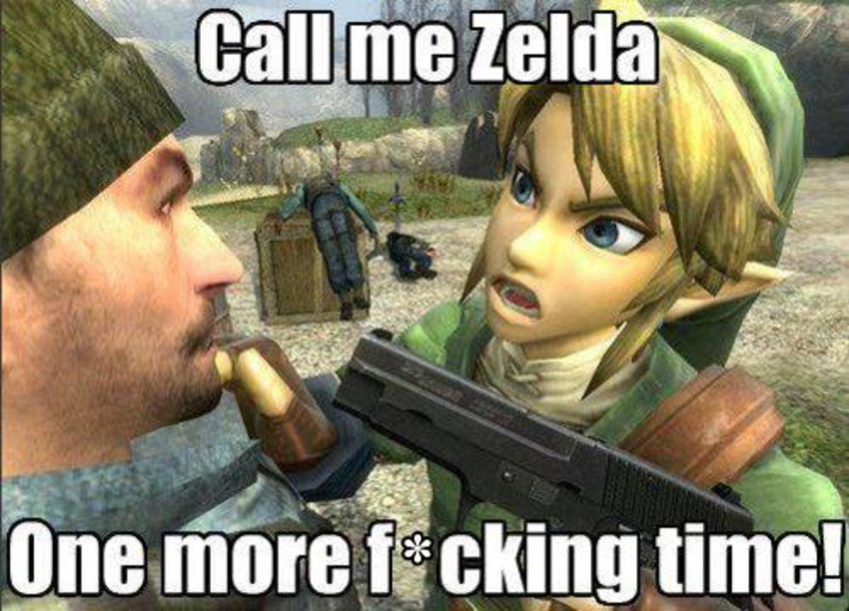 If Zelda was actually the protagonist for once, maybe this would stop happening.
