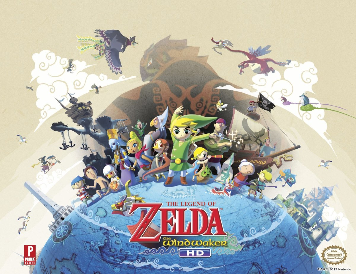 """Cover art for """"The Wind Waker."""""""