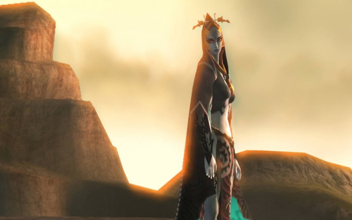 """Midna's transformation at the end of """"Twilight Princess."""""""