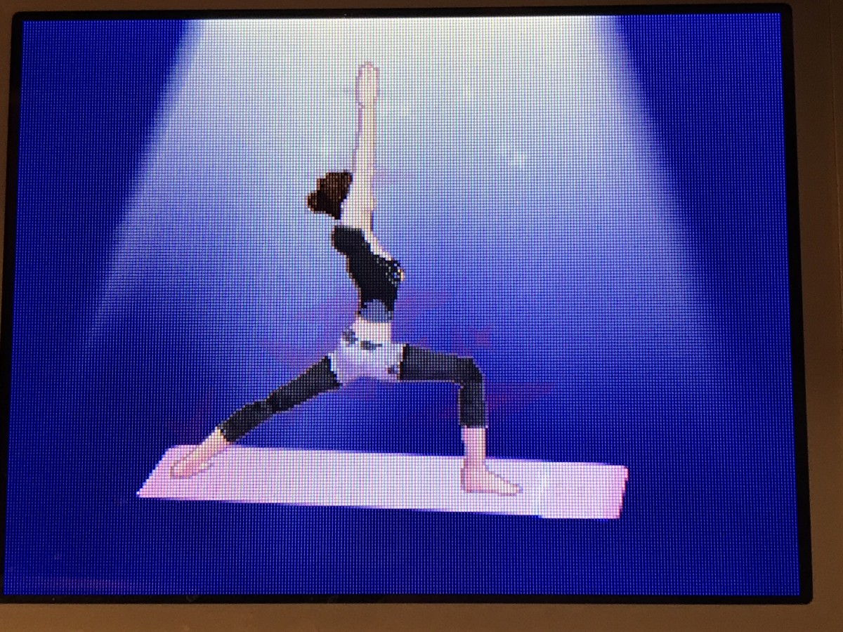 There are many different yoga poses available to practice in Let's Yoga.