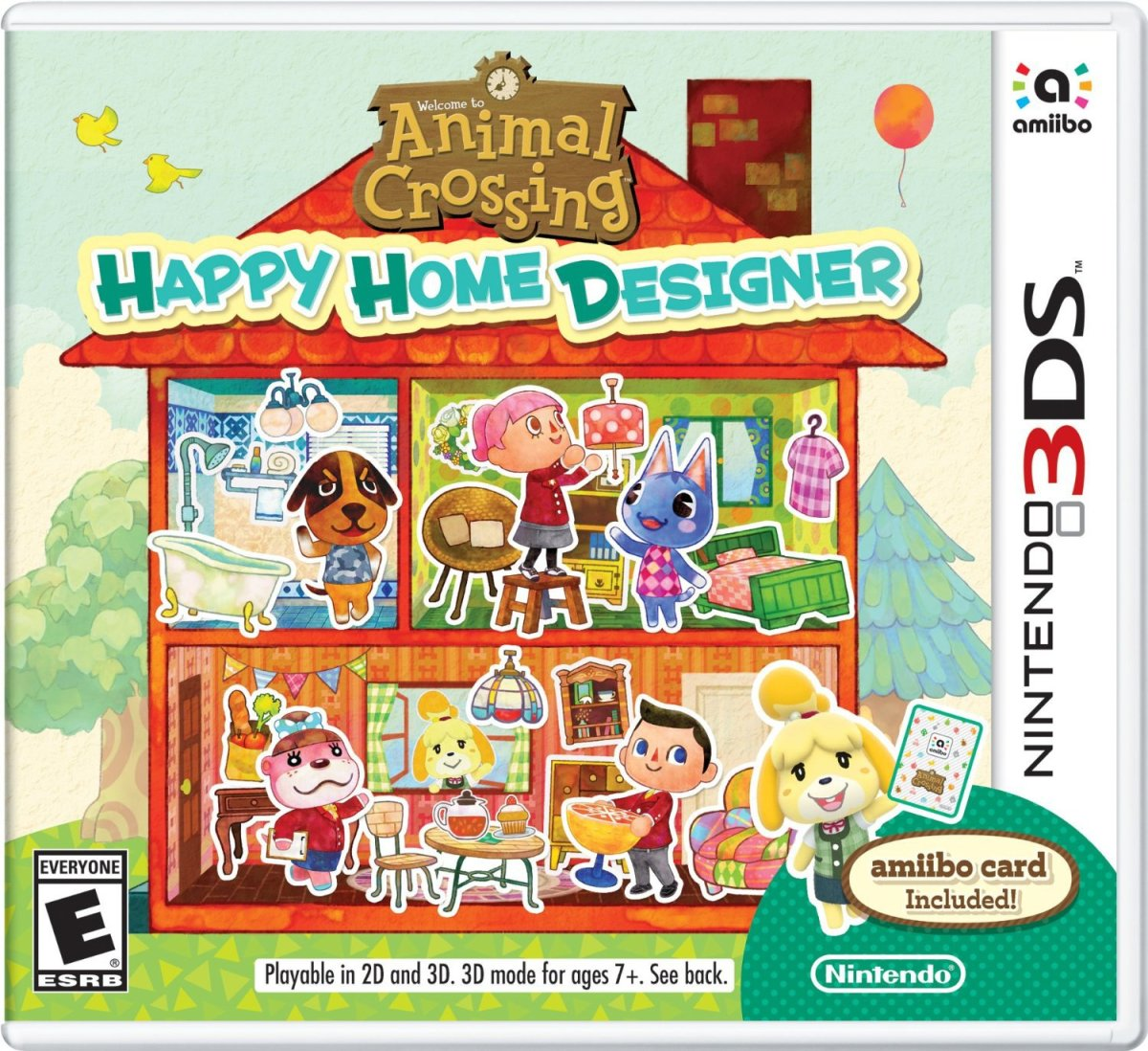 """Animal Crossing: Happy Home Designer"" for Nintendo 3DS"