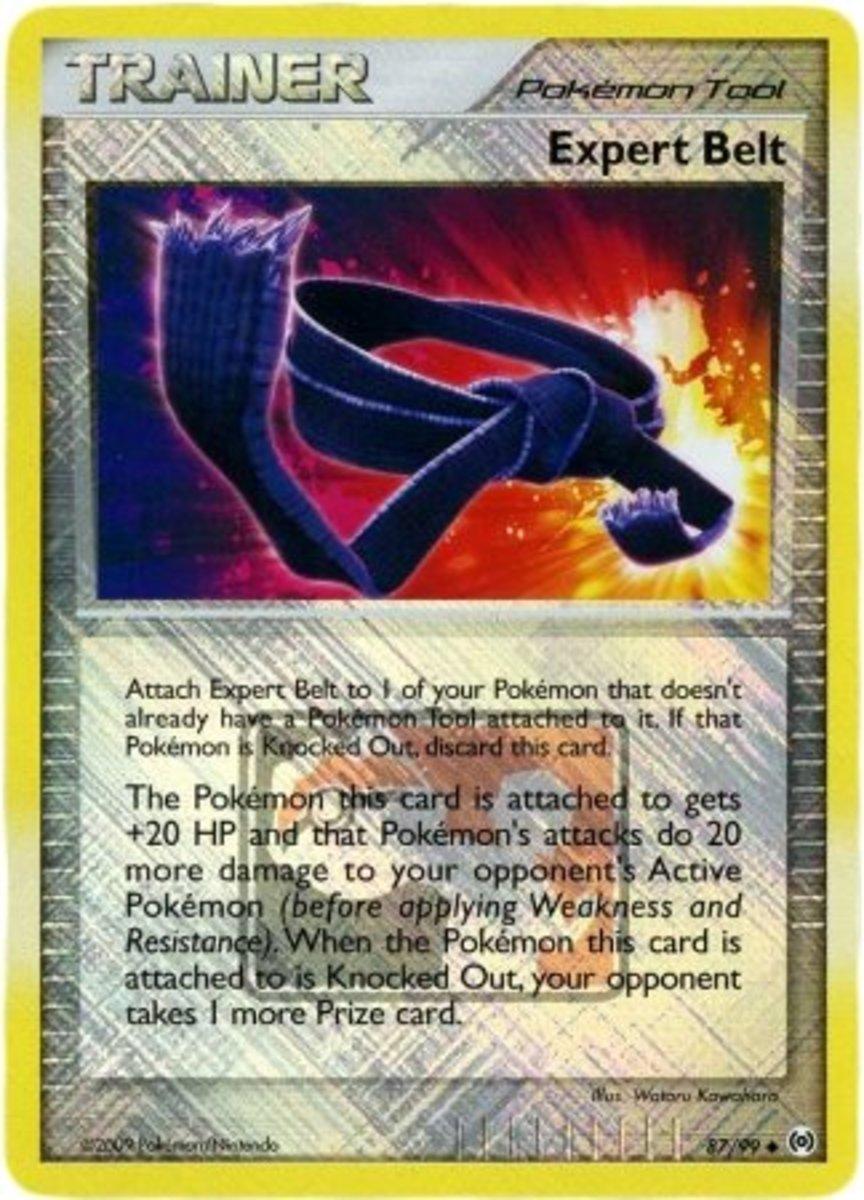 Expert Belt trading card