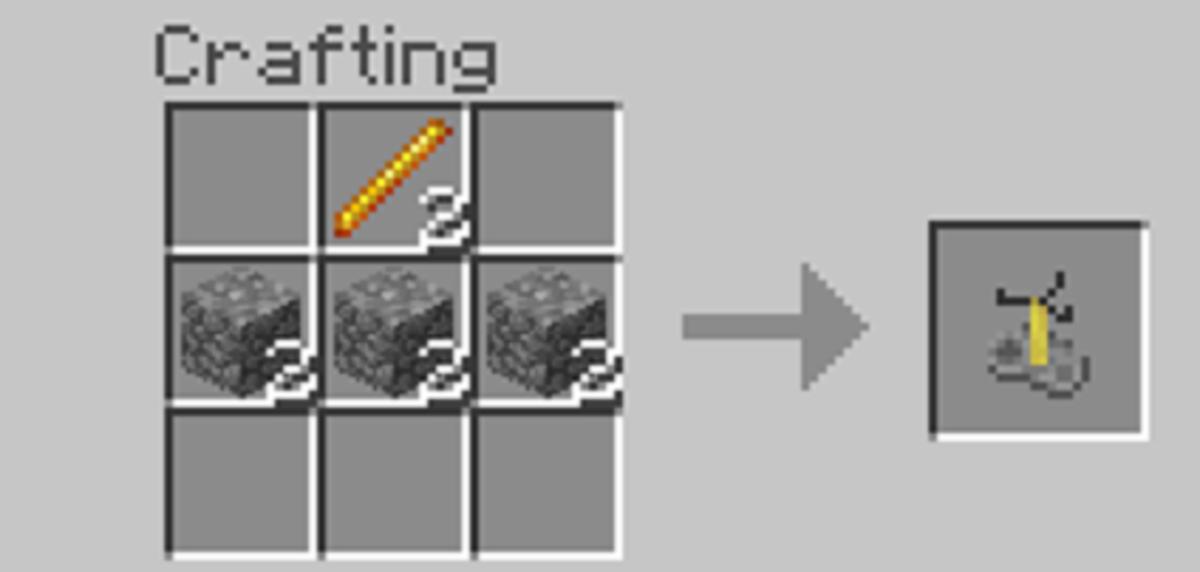 minecraft recipes brewing stand