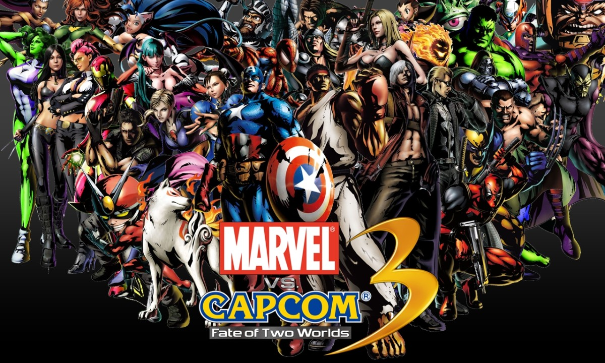 Marvel vs. Capcom 3's roster