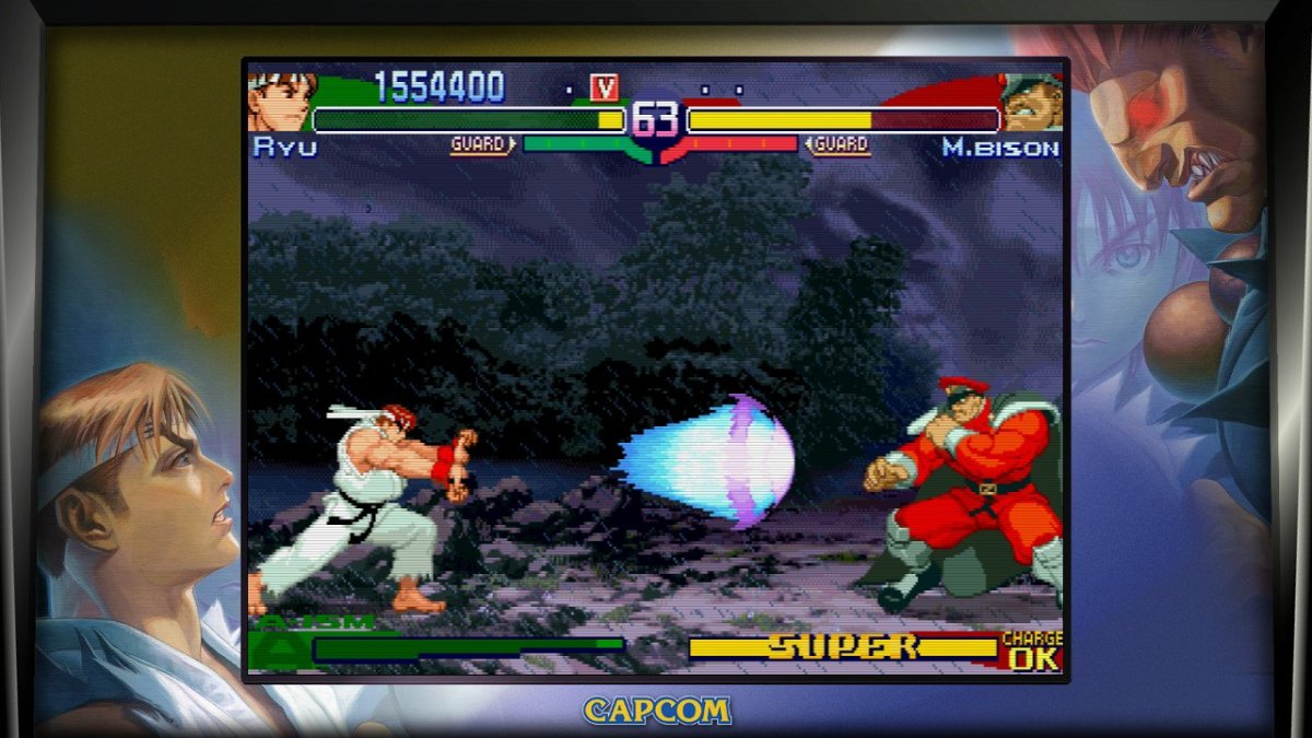 M. Bison got some serious gains in the Alpha series.