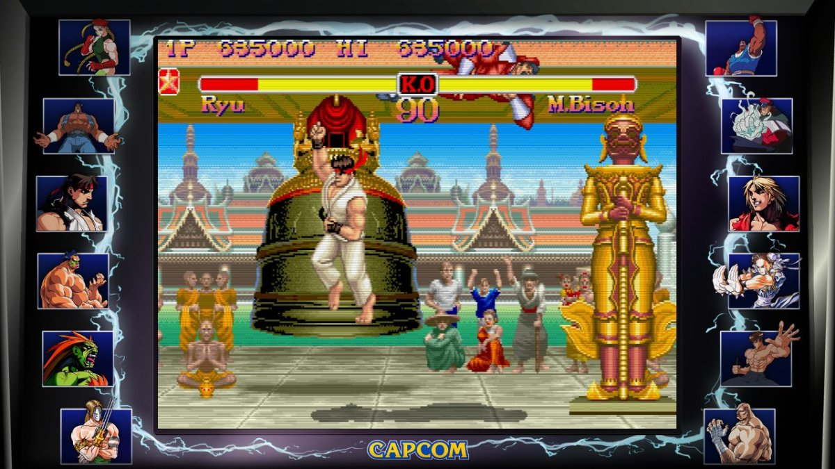Super Street Fighter II: The New Challengers runs on the CPS-2 hardware. And it shows.