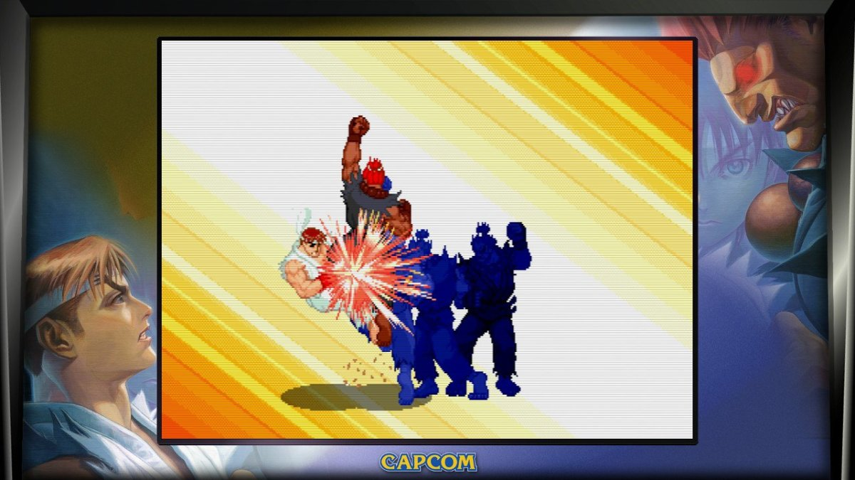 """Yeah, Akuma doesn't get any easier in the """"Alpha"""" series."""
