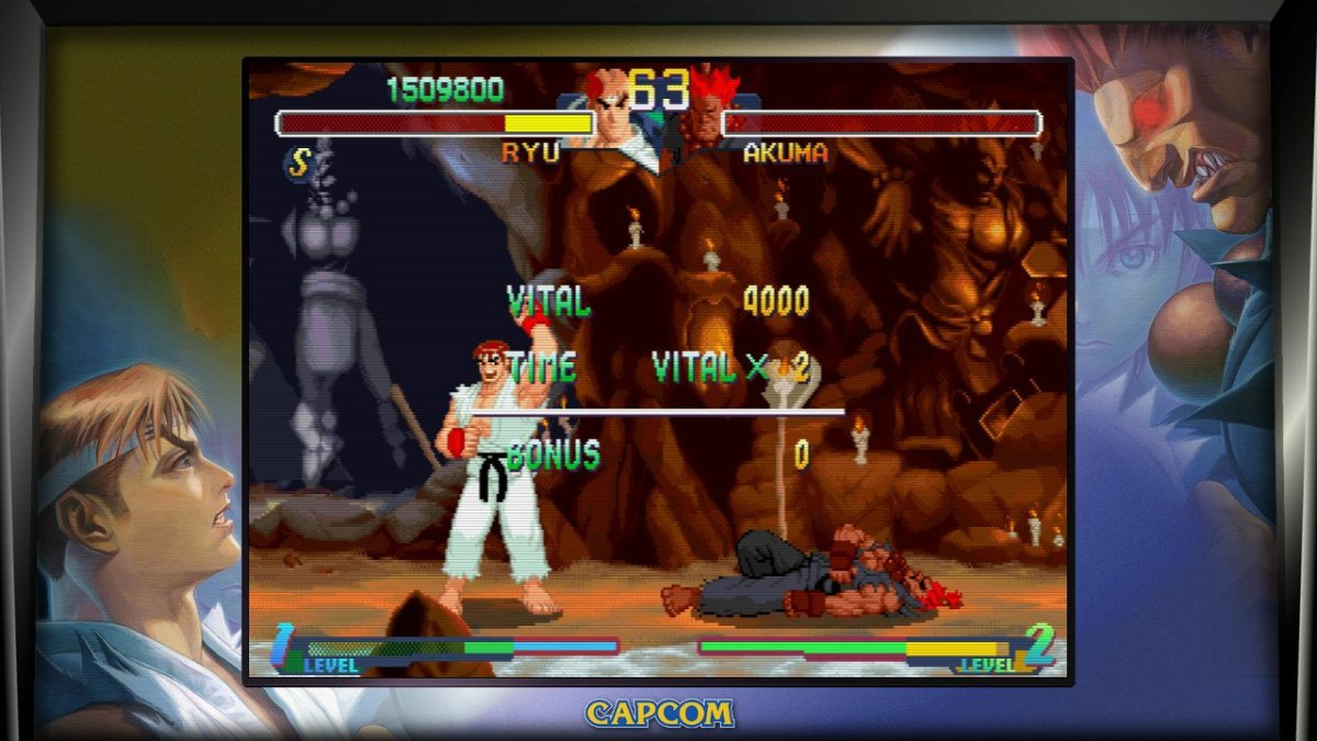 Thank you Capcom for making Akuma a regular character.