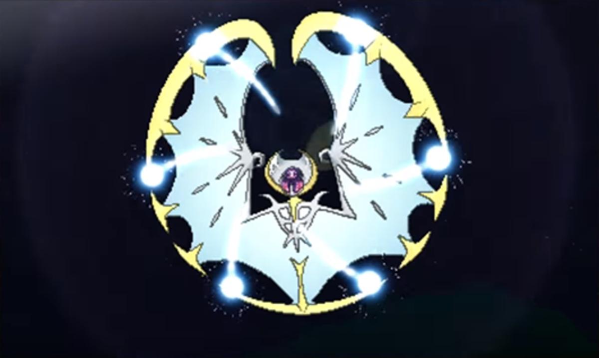 Lunala using Moongeist Beam