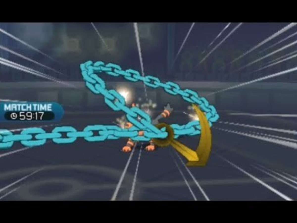 Dhelmise's Anchor Shot
