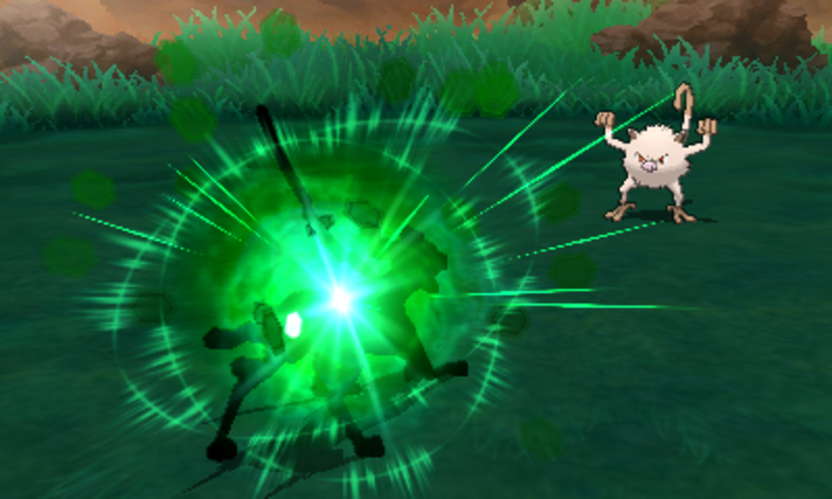 Zygarde using Thousand Waves