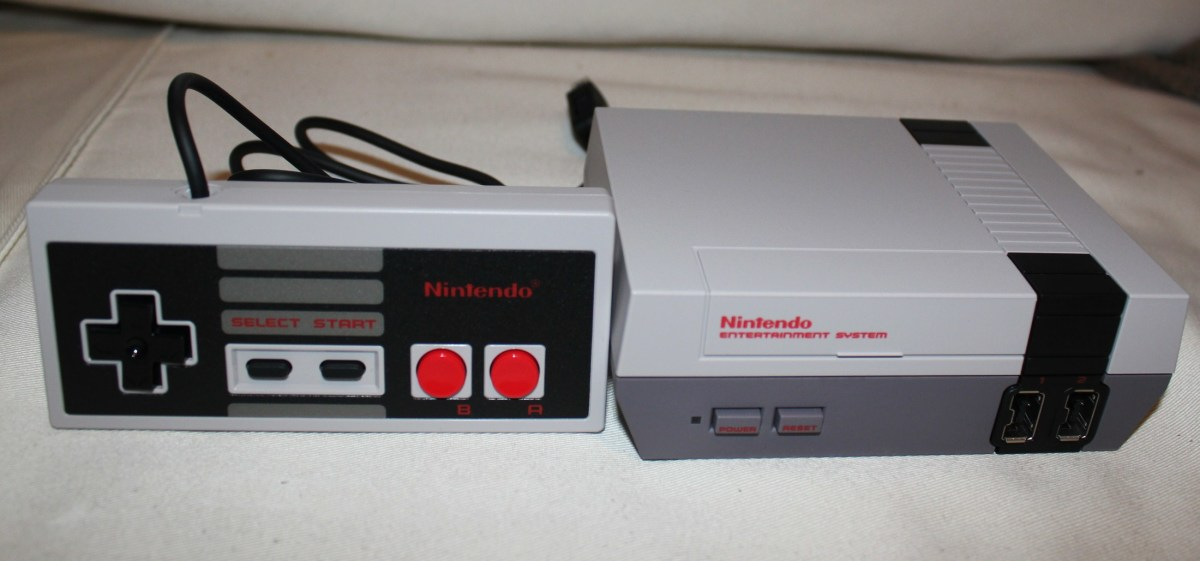 This is the NES Classic. It is was so popular it initially sold out.