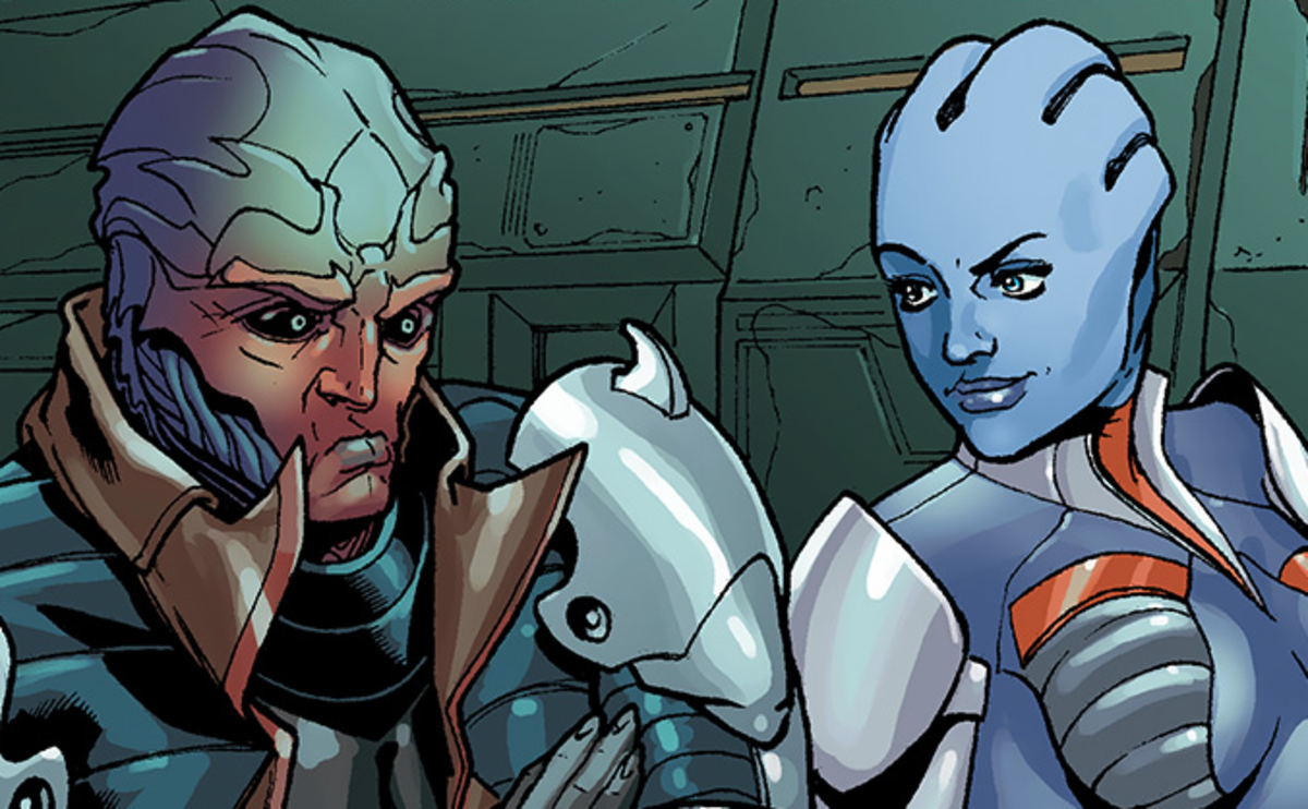 Mass Effect: Yes, Feron and Liara Were in Love