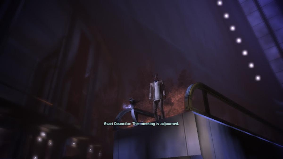 Mass Effect: Udina Wasn't a Bad Guy