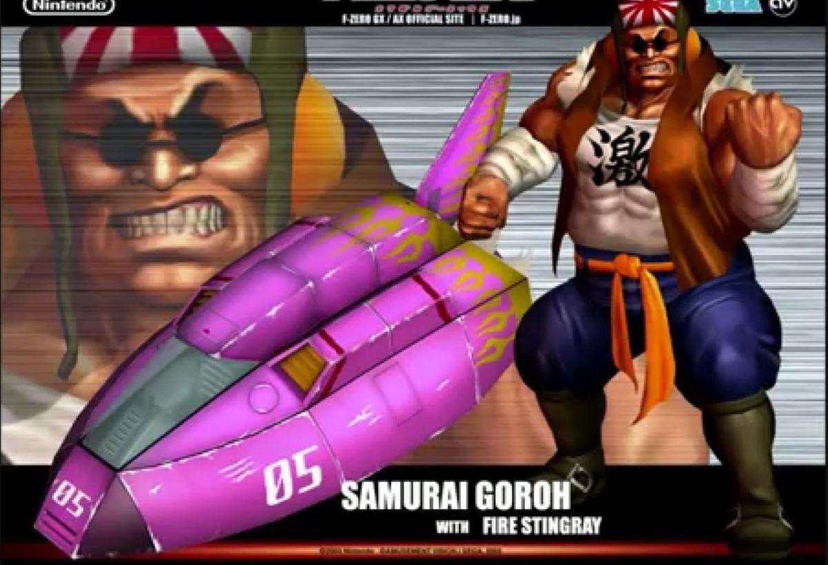 Samurai Goroh and Fire Stingray