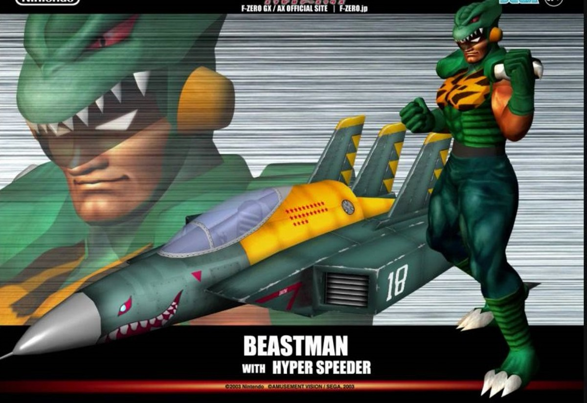 Beastman and Hyper Speeder