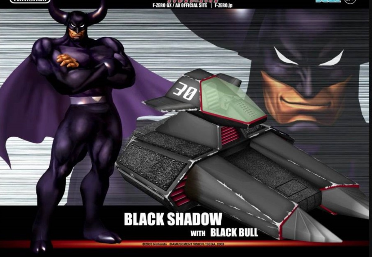 Black Shadow and Black Bull
