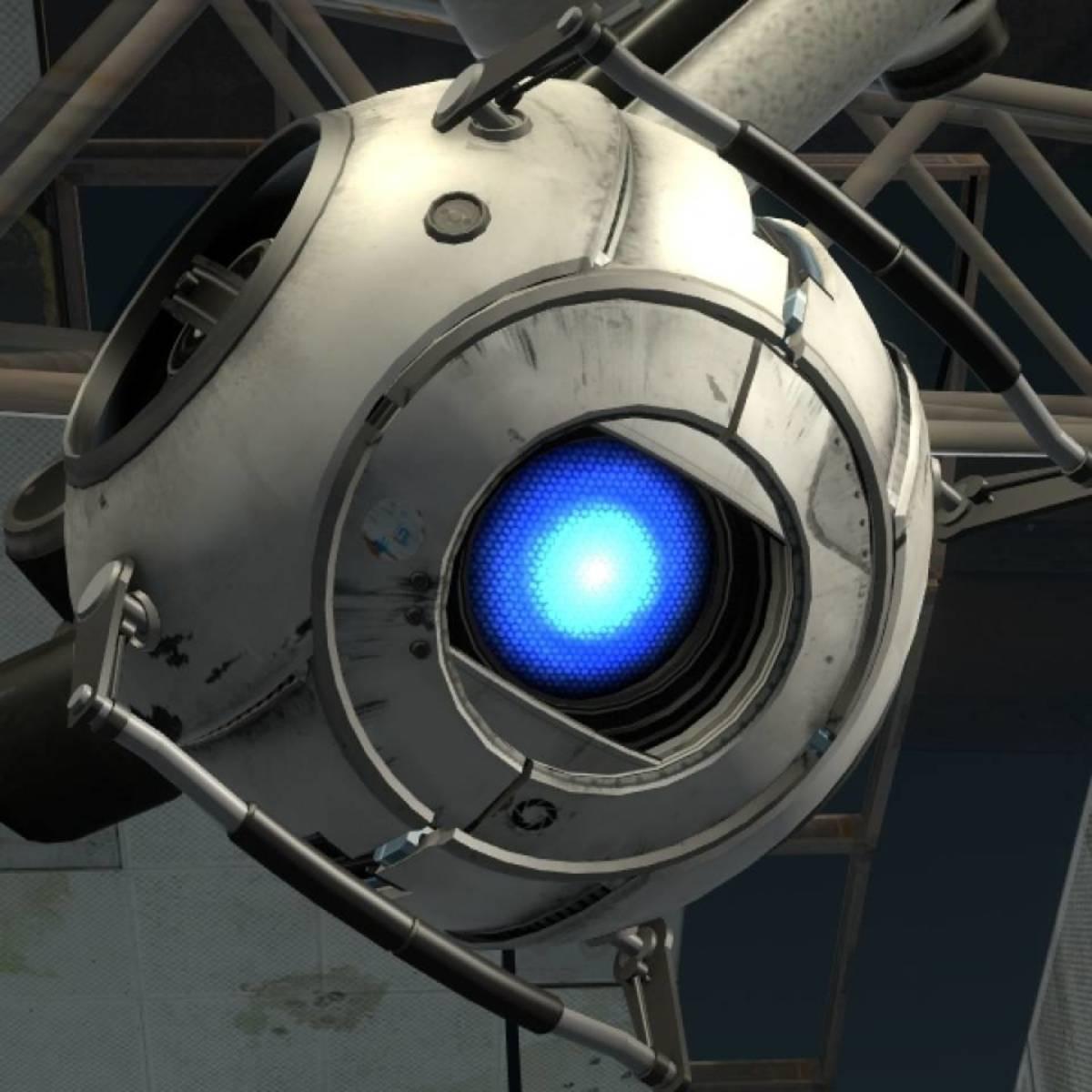Wheatley in Portal 2